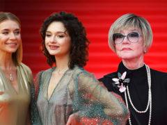 Подтянутая Алентова, изможденная дочь Кончаловского и жена Виторгана в прозрачном платье на красной дорожке
