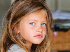 «Самая красивая девочка в мире» стала девушкой:  французская модель Тилан Блондо отметила важную дату