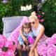 Яна Рудковская впервые представила на всеобщее обозрение роскошно цветущий сад в поселке «Горки-10»