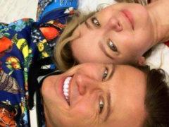 Прохор Шаляпин и Виталина Цымбалюк-Романовская провели романтический вечер лежа на земле у входа в церковь