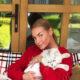 Эпатажнее, чем шпагат: бывшая балерина Анастасия Волочкова побрила кота и опубликовала фотографии с ним