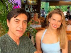 Красивая пара: бывшая жена Вадима Казаченко сходила на свидание с приемным сыном Армена Джигарханяна