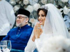 Сказка длилась недолго: экс-король Малайзии заявил о разводе с «Мисс Москва-2015» после рождения наследника
