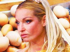 Анастасия Волочкова пришла в «совершенную форму» с помощью 6 яиц, чем вызвала насмешки подписчиков