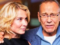 Стильную и бесстрашную Юлию Высоцкую обвинили в том, что она носит чемоданы вместо своего пожилого мужа