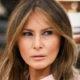 Безупречная и элегантная Мелания Трамп в кремовом костюме Dior появилась на торжественном мероприятии