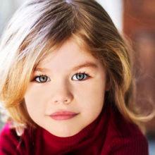 Фотошоп и много косметики: шестилетняя москвичка названа самым красивым ребенком в мире в 2019 году