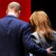 Принц Уильям вышел в свет без Кейт Миддлтон и был пойман за жаркими объятиями и поцелуями с поп-певицей