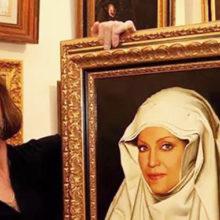 Олигарх заказал Никасу Сафронову икону с ликом Юлии Началовой: россияне уже называют певицу святой мученицей