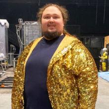 """""""Я за бодипозитив"""": сын художника Никаса Сафронова, который весит 242 кг, категорически отказывается худеть"""