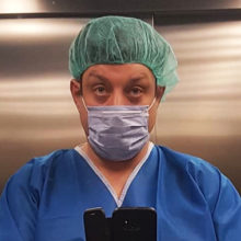 В разгар пандемии Михаил Полицеймако показал фото из больницы: артист стал отцом в четвертый раз