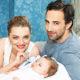 «Крепкий парнишка — 3720, рост 54»: россияне поздравляют Екатерину Вилкову и Илью Любимова с рождением сына