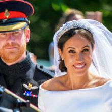 Он ей кольцо, она ему открытку: стало известно, как отпраздновали вторую годовщину свадьбы принц Гарри и Меган Маркл