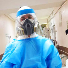Излечившаяся от коронавируса медсестра обратилась к согражданам, не стало врача-пульмонолога Елены Минаковой
