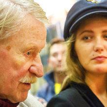 Наталья Шевель беспокоится о теряющем зрение 89-летнем Иване Краско, но уже задумалась о новом замужестве