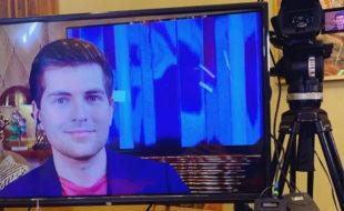 Заболевший коронавирусом Дмитрий Борисов вышел в эфир по видеосвязи и рассказал о самочувствии и симптомах
