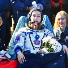 """""""Выдыхайте, все хорошо"""": Пересильд и Шипенко вернулись из космоса, актриса поделилась впечатлениями от полета"""
